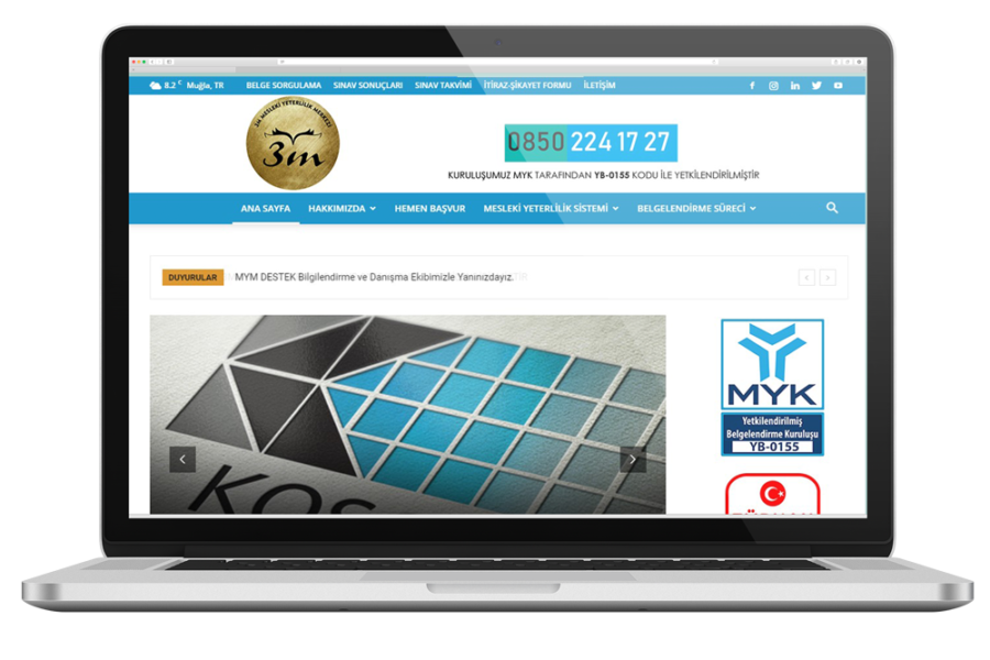 3M MYM Web Sitesi