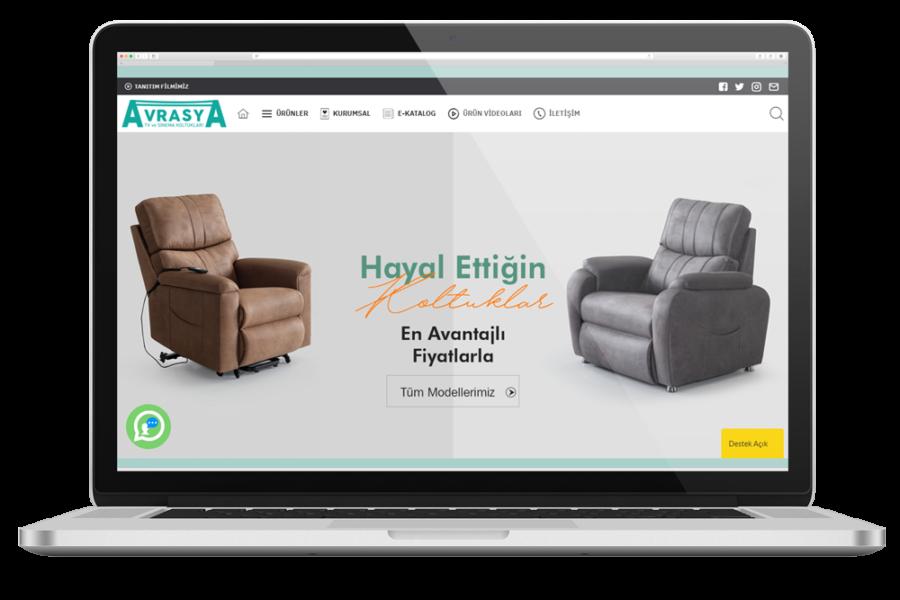Avrasya Koltuk Web Sitesi