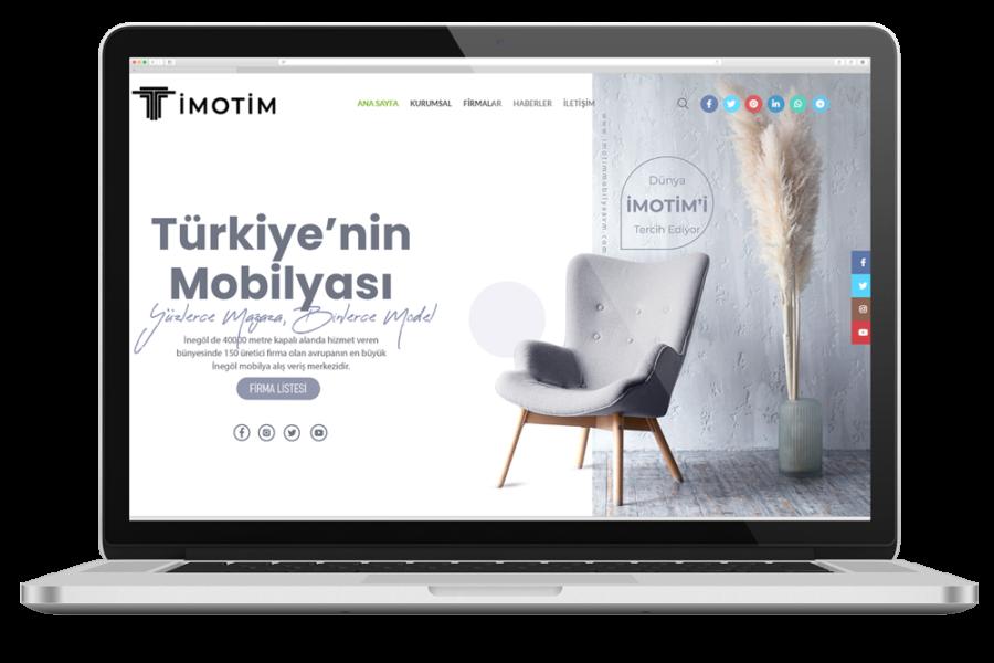 İmotim Mobilya AVM Web Sitesi
