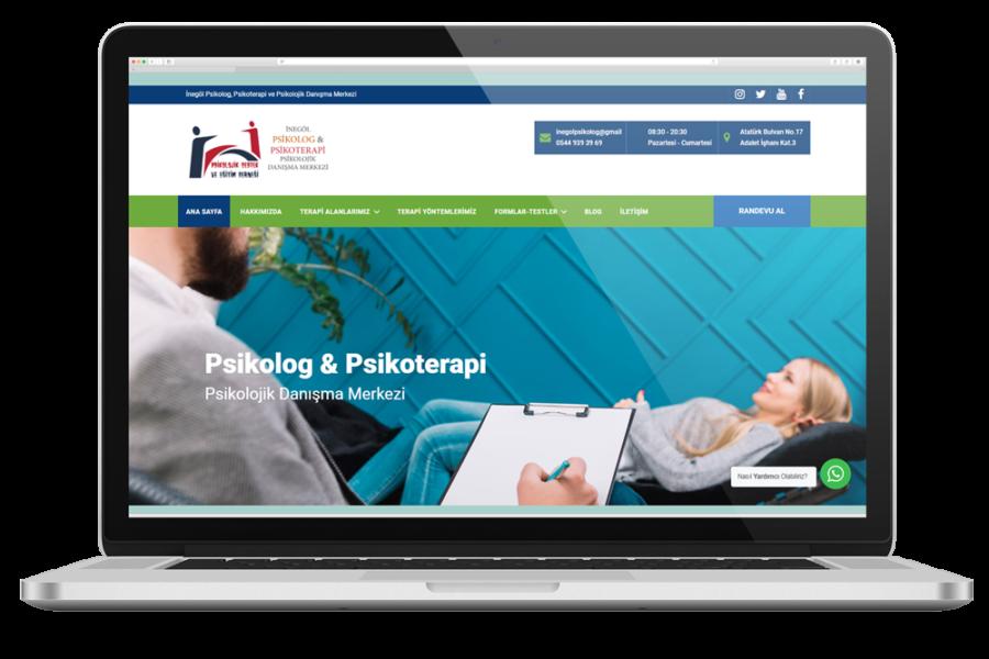 İnegöl Psikolog Web Sitesi